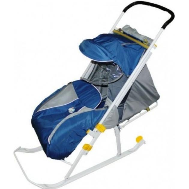 Детские санки коляска Papajoy Ника детям 4