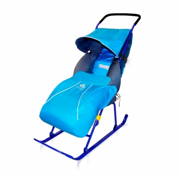 Детские санки коляска Papajoy Тимка 2+