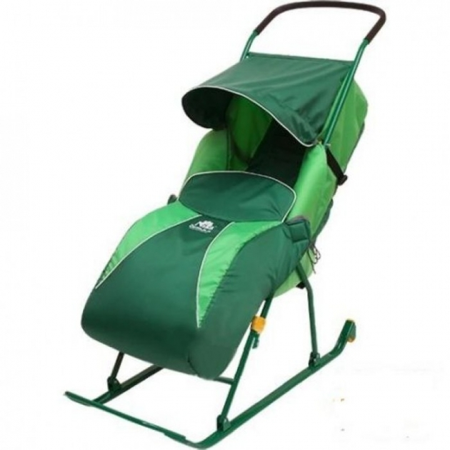 Детские санки коляска Papajoy Тимка 2 Комфорт