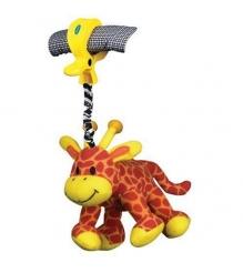 Игрушка+подвеска на коляску Playgro Жирафик