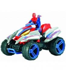 Детская игрушки на радиоуправлении Silverlit Человек паук на квадроцикле 85449