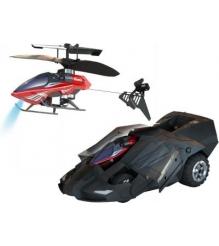 Вертолет на радиоуправлении Silverlit с броневиком трехканальный 85978...