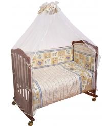 Комплект в кроватку 3 предмета Сонный гномик Считалочка 305