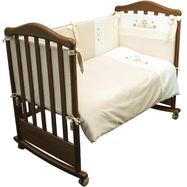 Комплект в кроватку 3 предмета Сонный гномик Кантри 317
