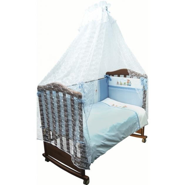 Комплект в кроватку 3 предмета Сонный гномик Паровозик 372