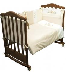 Комплект в кроватку 6 предметов Сонный гномик Кантри 617...