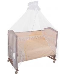 Комплект в кроватку 6 предметов Сонный гномик Оленята 627