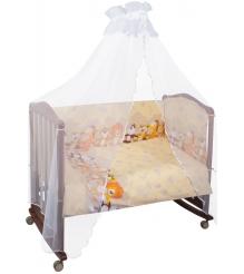 Комплект в кроватку 6 предметов Сонный гномик Африка 631...