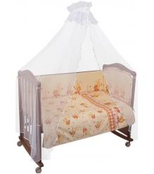 Комплект в кроватку 6 предметов Сонный гномик Пчелки 632...