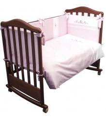 Комплект в кроватку 6 предметов Сонный гномик Прованс 669...