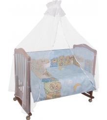 Комплект в кроватку 7 предметов Сонный гномик Лежебоки 715...