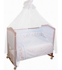 Комплект в кроватку 7 предметов Сонный гномик Оленята 727...