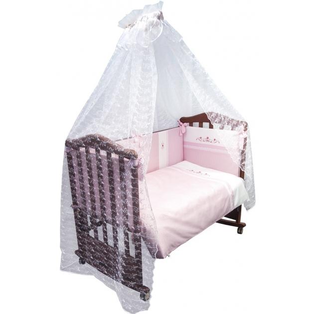 Комплект в кроватку 7 предметов Сонный гномик Прованс 769