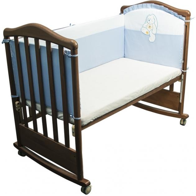 Бортик в кроватку Сонный Гномик Пушистик 110