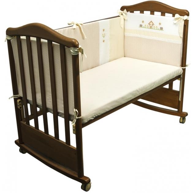 Бортик в кроватку Сонный Гномик Кантри 117