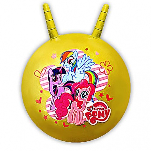 Мяч прыгун My Little Pony с рожками SJ-18(MLP)(24)/179021