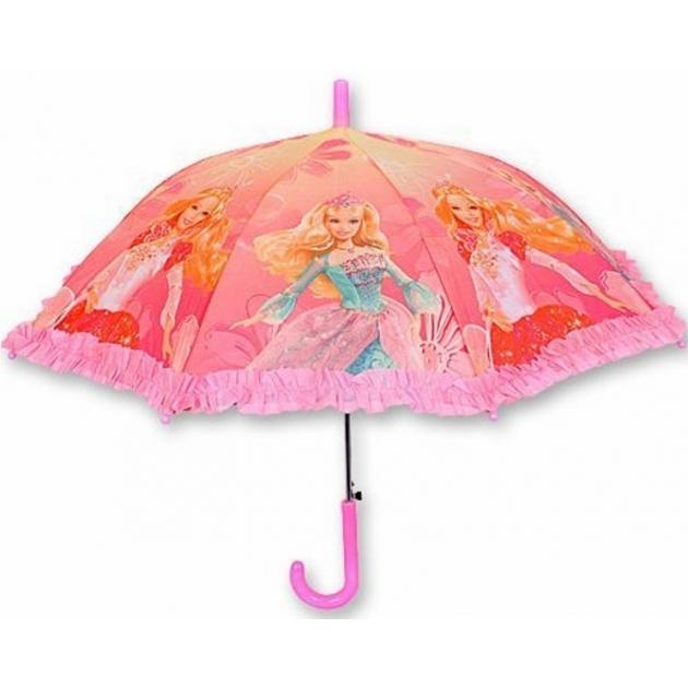 Детский зонт трость Барби YD10215-24T2/203530