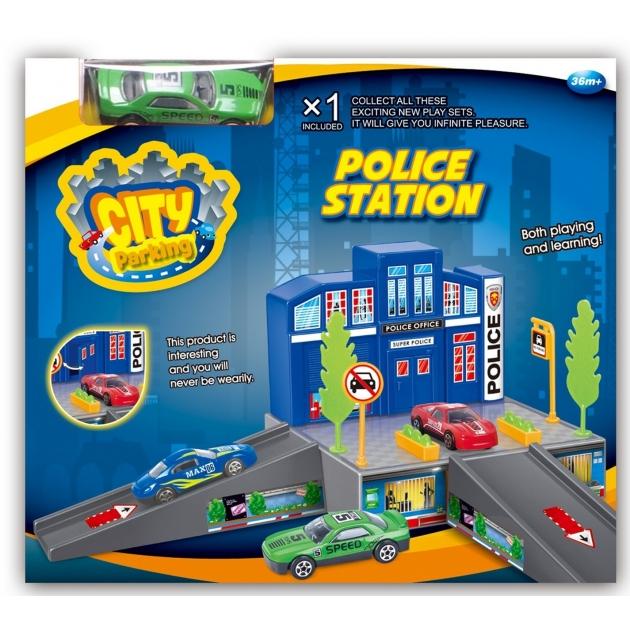 Полицейский участок Dave Toy с 1 машинкой 32017