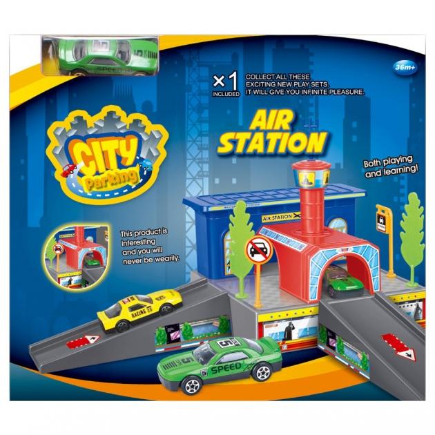 Аэропорт Dave Toy с 1 машинкой 32019