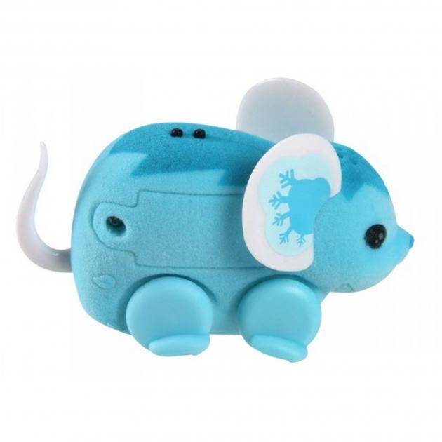 Интерактивная мышка Little Live Pets голубая 28187