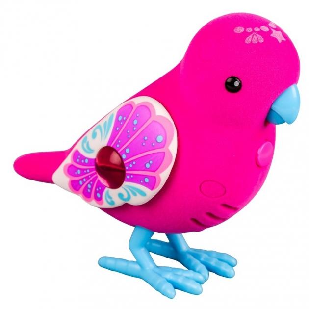 Интерактивная птичка Little Live Pets Красная с голубыми лапками 28238