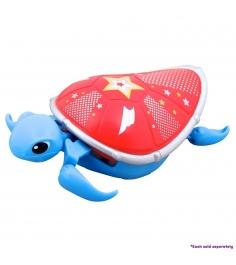 Интерактивная черепашка Little Live Pets Третья серия Голубая с красным панцирем...