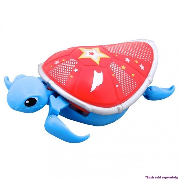 Интерактивная черепашка Little Live Pets Третья серия Голубая с красным панцирем 28253