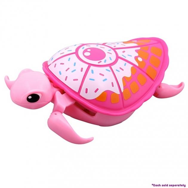 Интерактивная черепашка Little Live Pets Третья серия Розовая с белым панцирем 28255