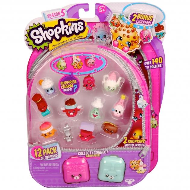 Игровой набор Shopkins 12 фигурок с аксессуарами Пятая серия 56145