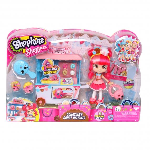 Игровой набор Shopkins Пончик Счастья Донатины 56186