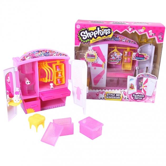 Игровой набор Шопкинс Модный гардероб 5 серия 56298