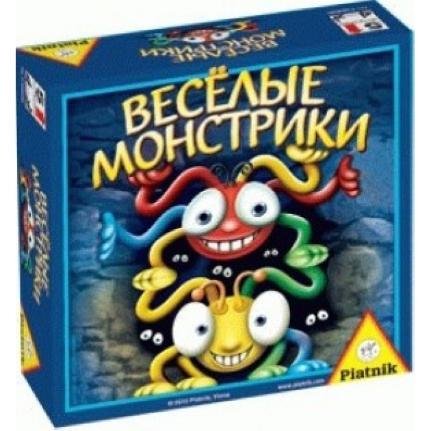 Настольная игра Piatnik веселые монстрики 736896