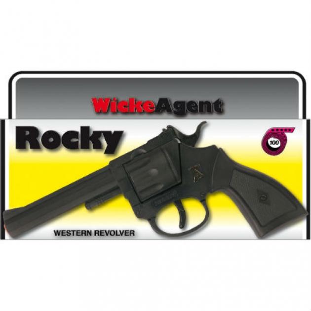 Пистолет с пистонами Sohni-wicke Рокки 100 зарядный 192 мм 0320F