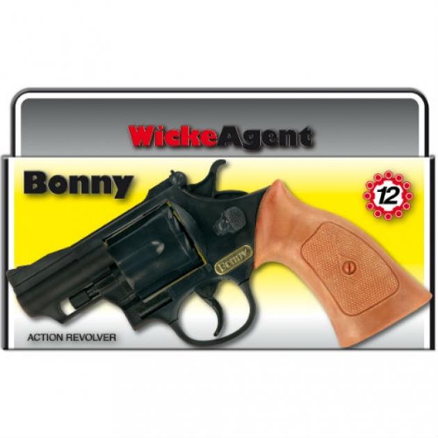 Пистолет с пистонами Sohni-wicke Bonny 12 зарядные Gun Agent 238 мм упаковка короб 0342S