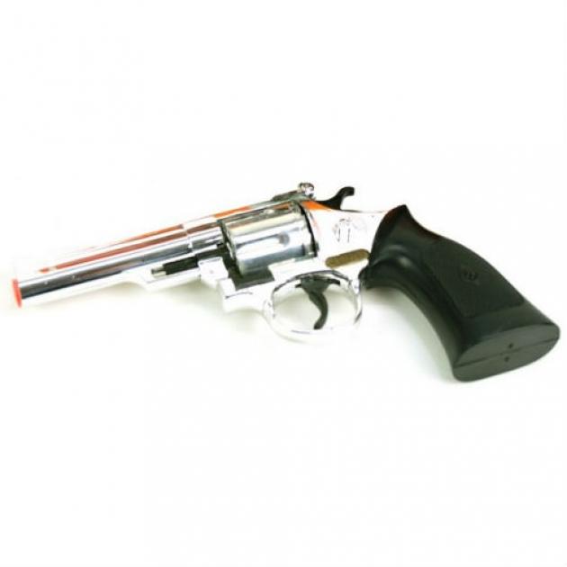 Пистолет с пистонами Sohni-wicke Денвер Агент 12 зарядный хром 219 мм 0446-09S