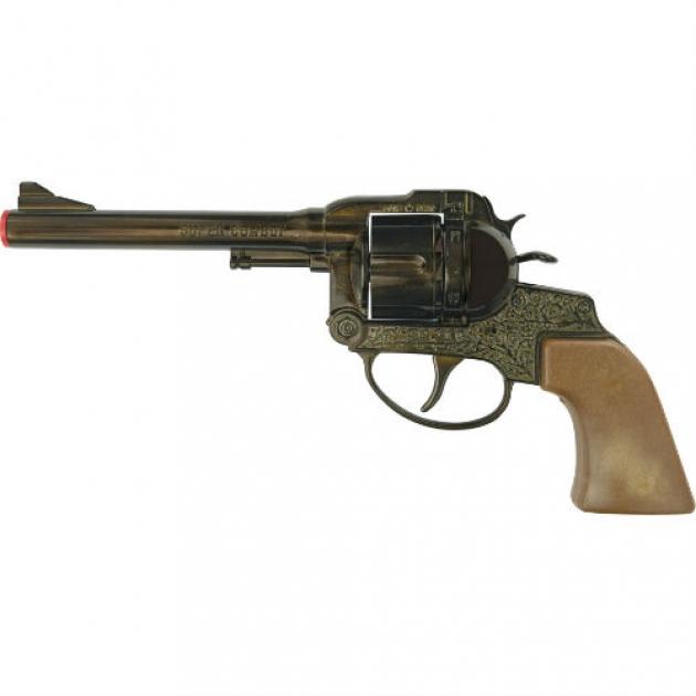 Пистолет с пистонами Sohni-wicke Супер Ковбой 12 зарядный 230 мм 0448S