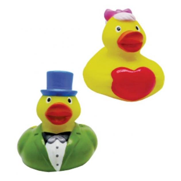 Набор игрушек для ванны Жирафики Уточки 681263
