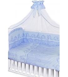 Комплект в кроватку Золотой гусь 7 предметов Зая Зай 1232