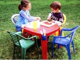 Уличные столы и стулья