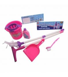 Игровой набор для уборки Помогаю маме 7 предметов ABtoys PT-00349