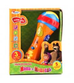 Микрофон Играем вместе маша и медведь 838-31