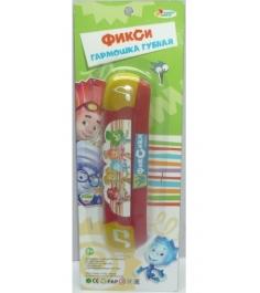 Детская губная гармошка Играем вместе фиксики B323587-R3