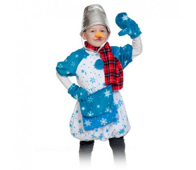 Купить в интер магазине костюм снеговика