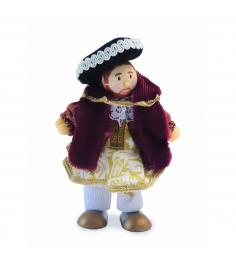 Кукла Le Toy Van Budkins Knights and Royals Король Генрих VIII 10 см BK991