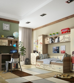 Детская комната для мальчика Челси Mebelson