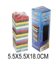 Игра башня цветное дерево Shantou Gepai 631222