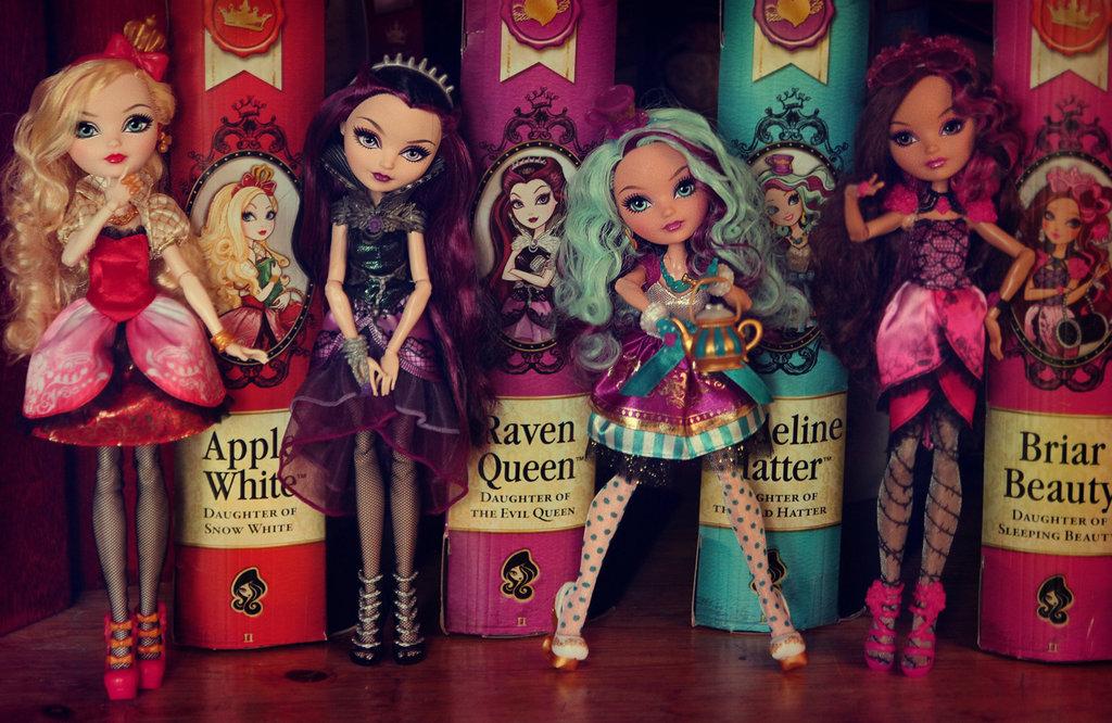 Новинки - куклы Ever After High!
