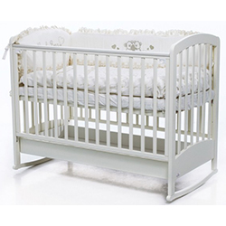 кроватка качалка для новорожденных