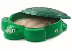 Детская песочница с крышкой